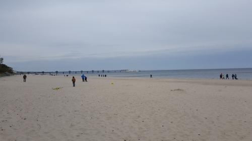 Strand von Międzyzdroje