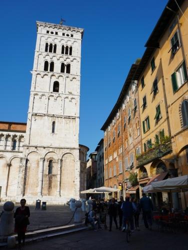 San Michele in Foro Rückseite